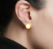 Flash-Stone (Tm) Ear Rings will make you the topic of conversation.