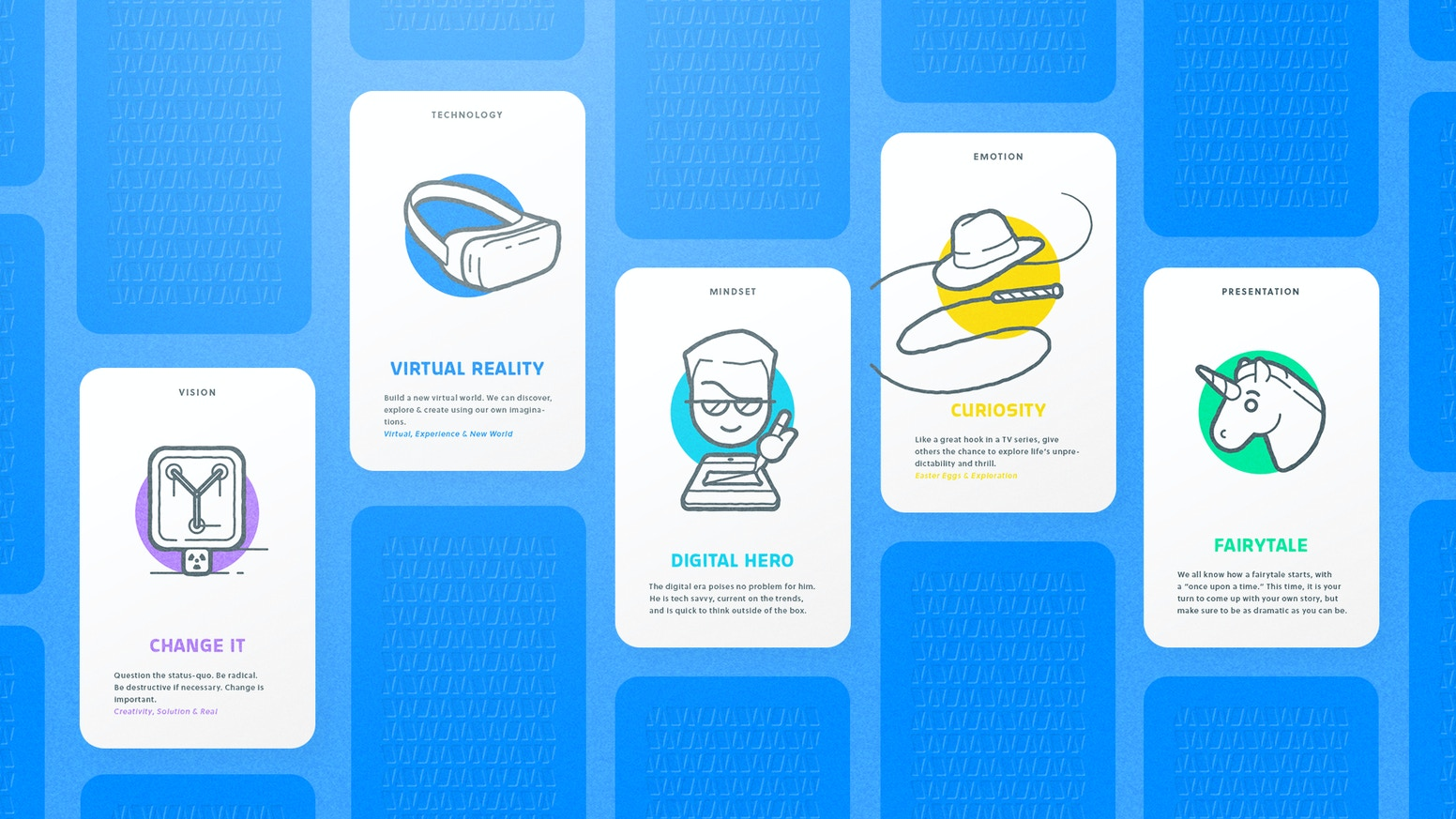 Ideation Playing Cards for Entrepreneurs, Startups, Universities, Students, Consultants and every one else