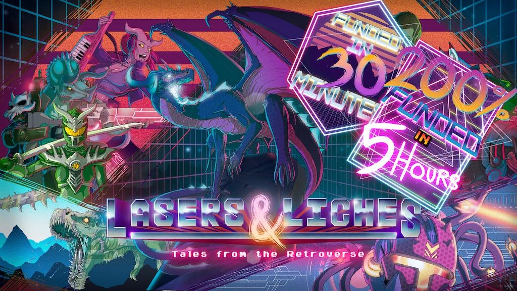 Lasers & Liches - New 5E Sourcebooks