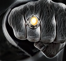 Men's Flash Stone Ring - Items shown are artists renditions - final products will vary