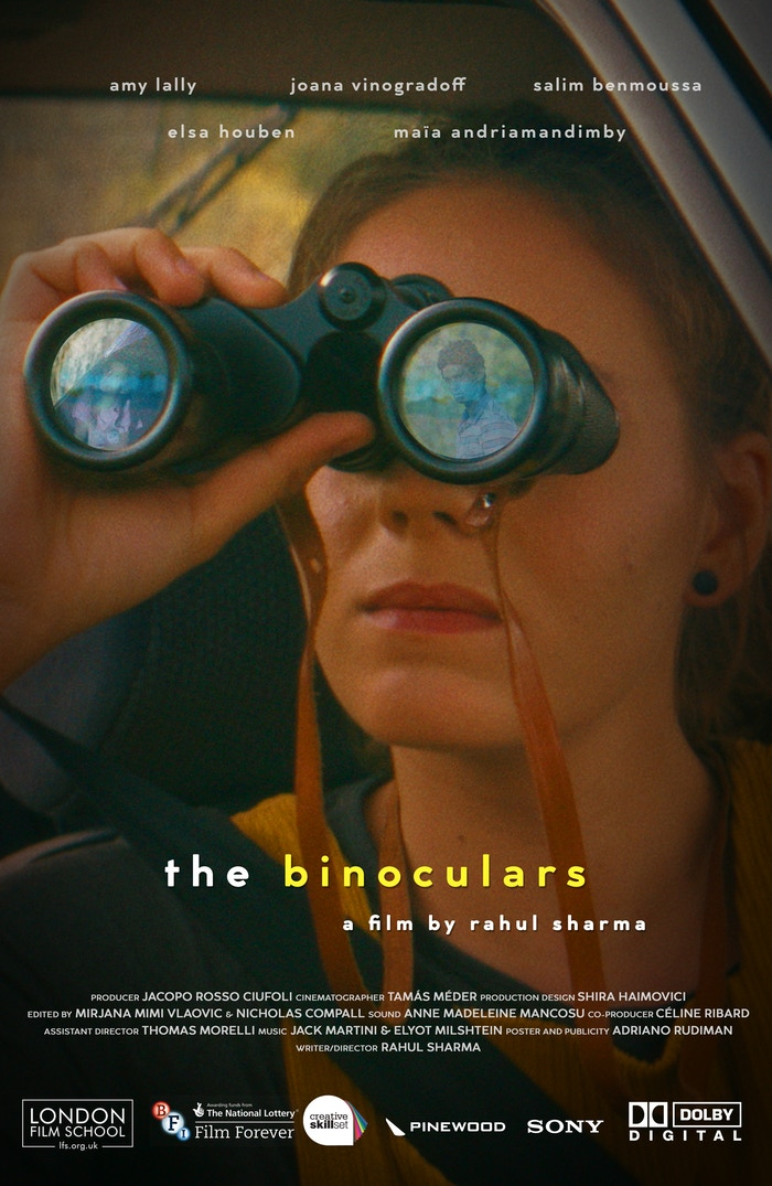 Cadence decides to run away during an unwished-for road trip with her mother. Looking through her binoculars, she sees something unusual that will lead her to an unexpected meeting.
