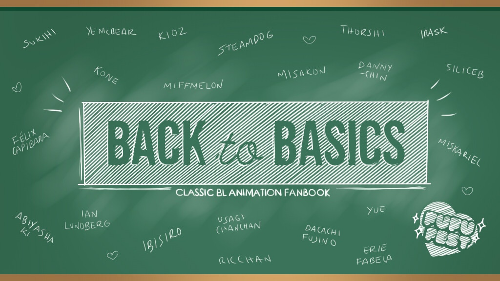 Project image for Back to Basics: Classic BL Animation Fanbook