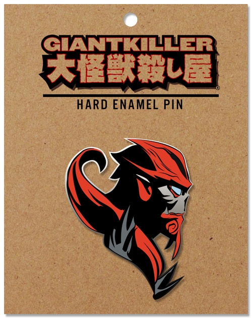 """Jack"" GIANTKILLER Hard Enamel Pin (mock-up design) free with each physical reward."