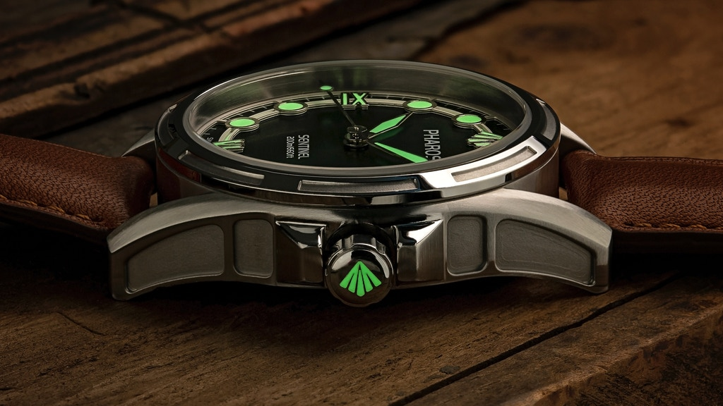 The Sentinel: SuperLuminova Automatic Swiss Movement Watches project video thumbnail