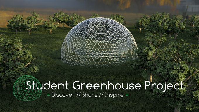 A rendered image of the finished dome!