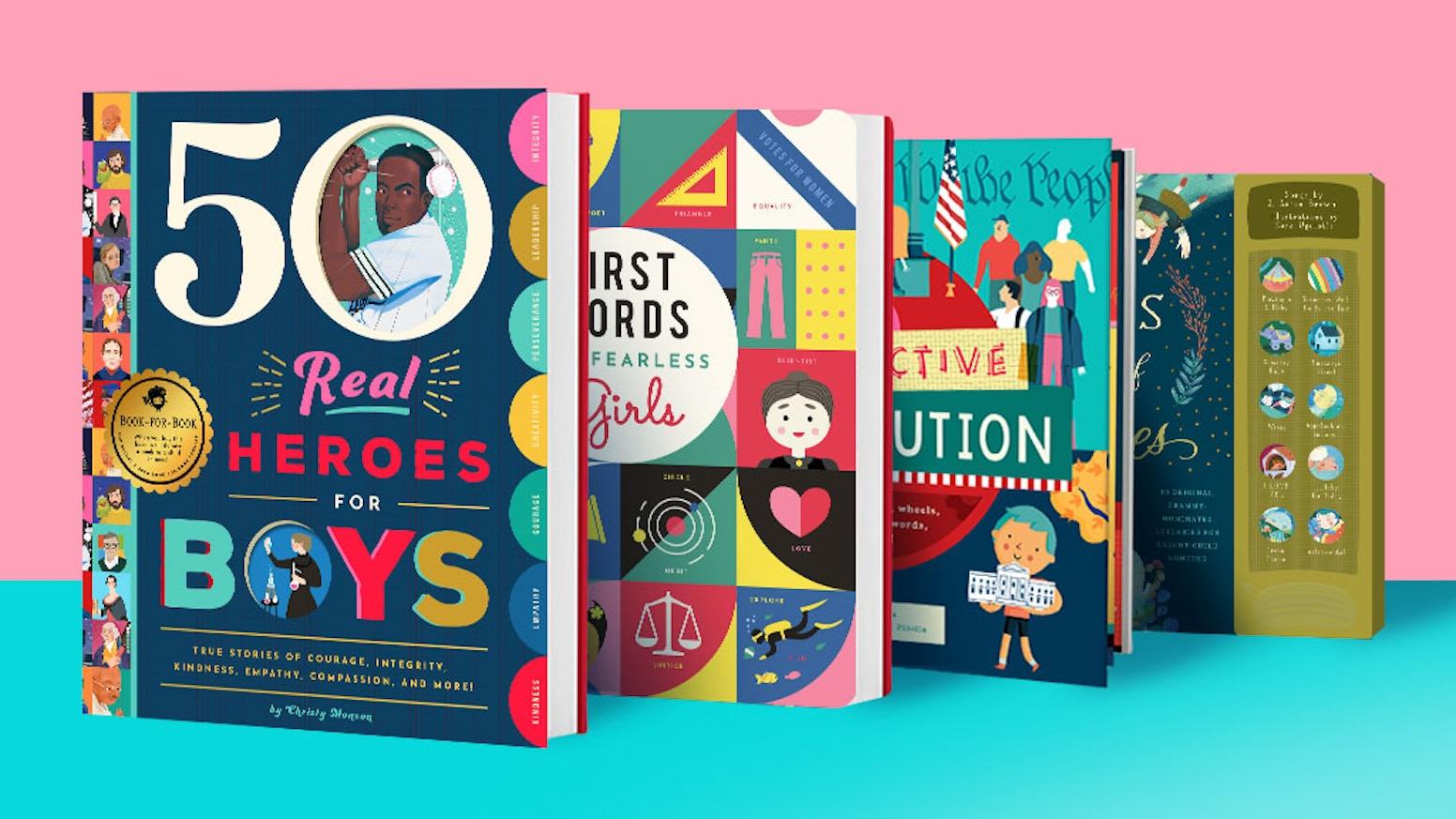 NEW! Bushel & Peck Books: Powerful books that pay it forward