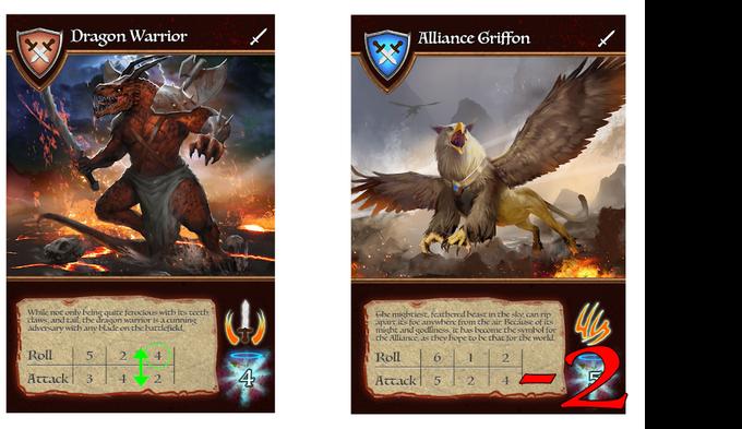 Dragon Warrior attacking Alliance Griffon