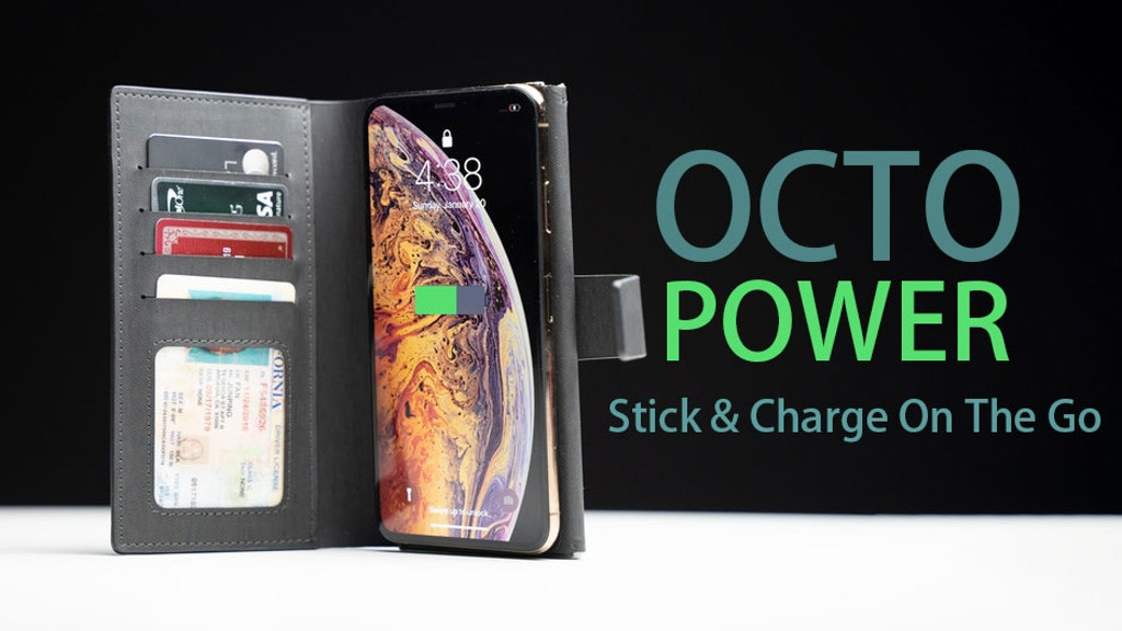 OCTOPower: Affix-to-go True Wireless Charger & Phone Case