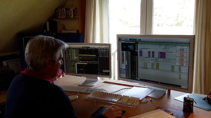 Bafta nominated composer Richard Wells. Working on FOE music.