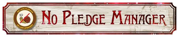 No Pledge Manager!