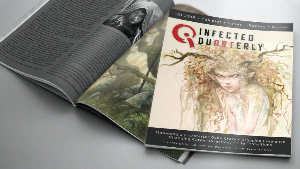 Project image for Infected Quarterly: Art and Literature magazine