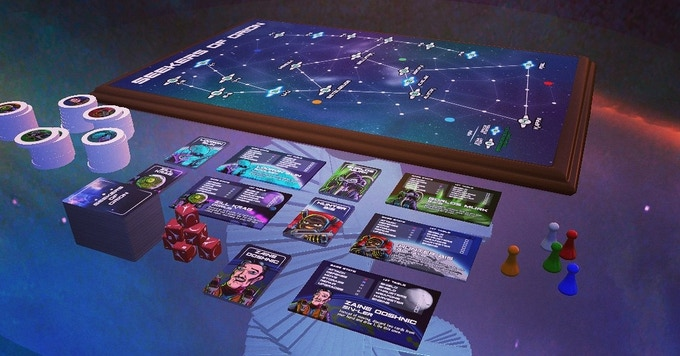 Screens from Tabletop Sim - Note physical copy looks a little different.