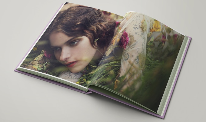 Flower Shower: a photo book