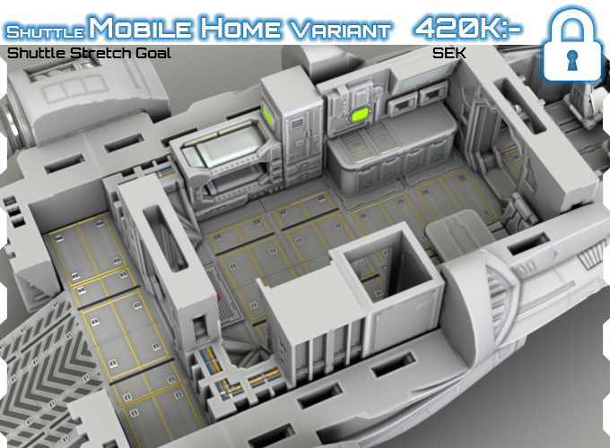 Starship Ii 3d Printable Openlock Compatible Deck Plans By