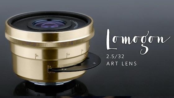 The lomogon 2.5 32 art lens by lomography u2014 kickstarter
