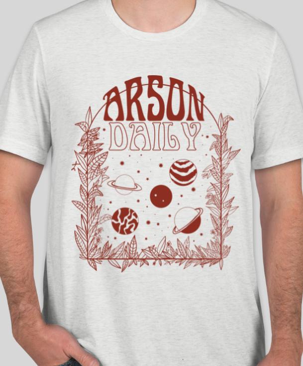 Arson Daily T Shirt