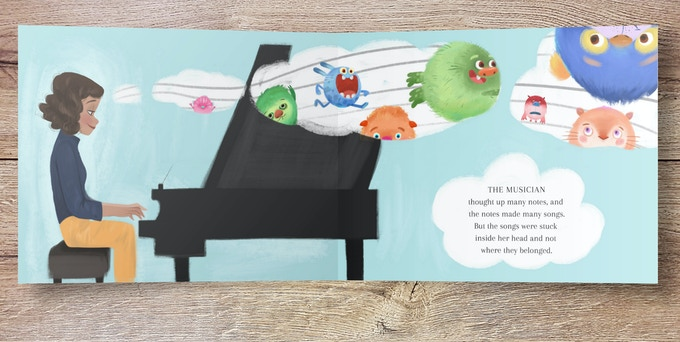 The book encourage skills that support true music literacy. The musician develops her musical ear with improv and audiation (hearing the music in her head) and then reads and writes music notation.
