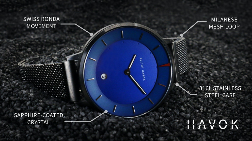 HAVOK | Disruptive Luxury Timepieces at $89 project video thumbnail