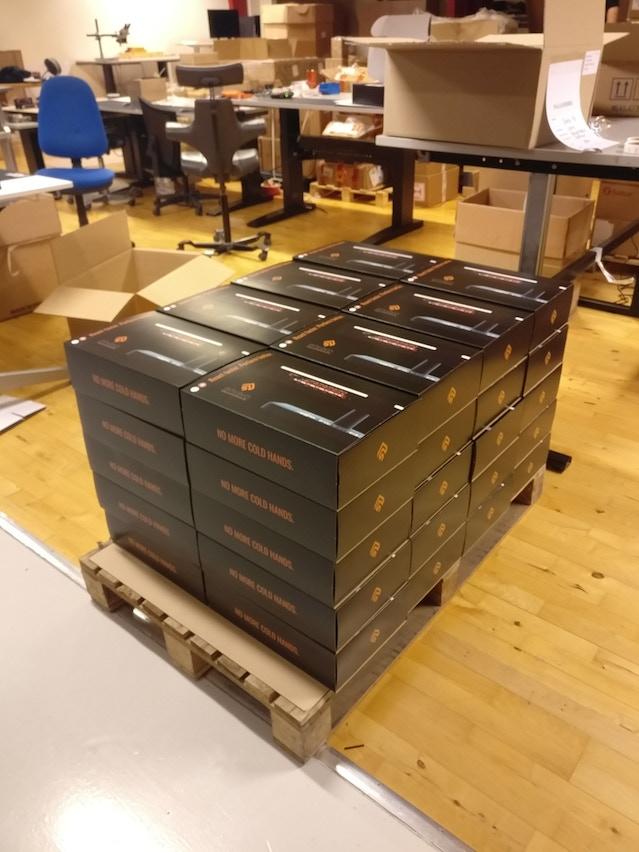 First 40 Envavo Heatbuffs made