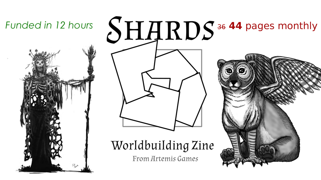 Shards: Worldbuilding Zine - Quickstarter project video thumbnail