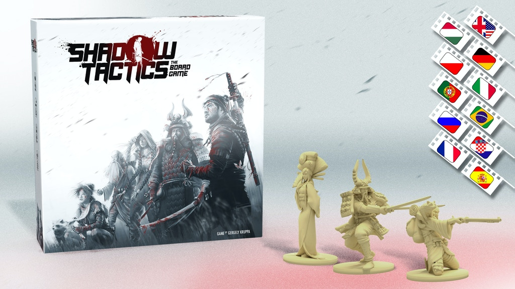 Shadow Tactics - the Board Game project video thumbnail