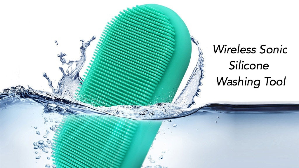 Wireless Sonic Washing Tool for Anything & Anyone