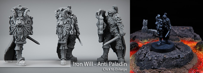 Hell Hath No Fury - 3D Printable Table Top Miniatures by Printed
