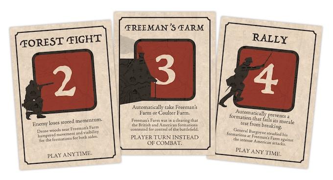 British Tactic Cards