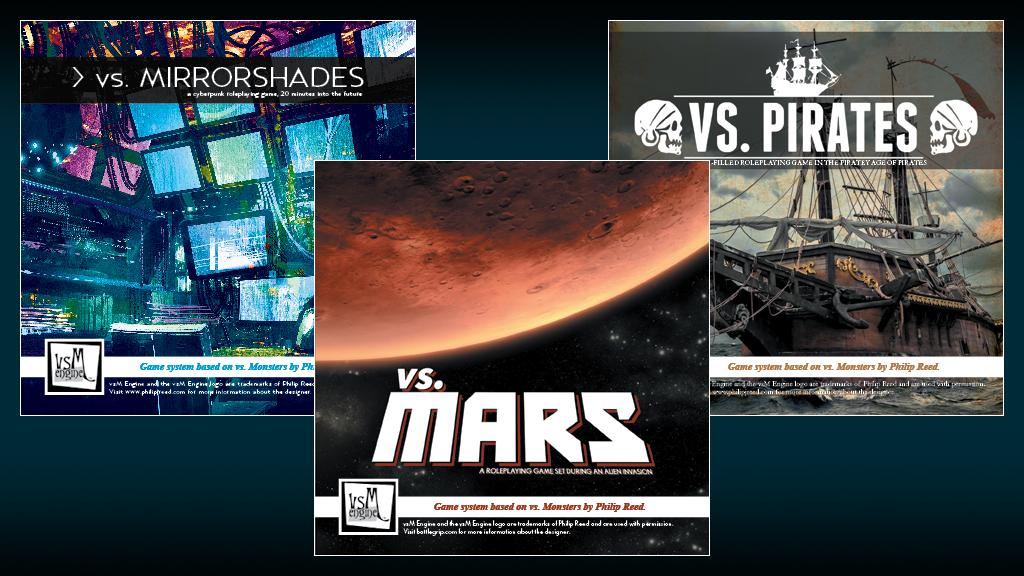 vs. KICKSTARTER: three small roleplaying games project video thumbnail