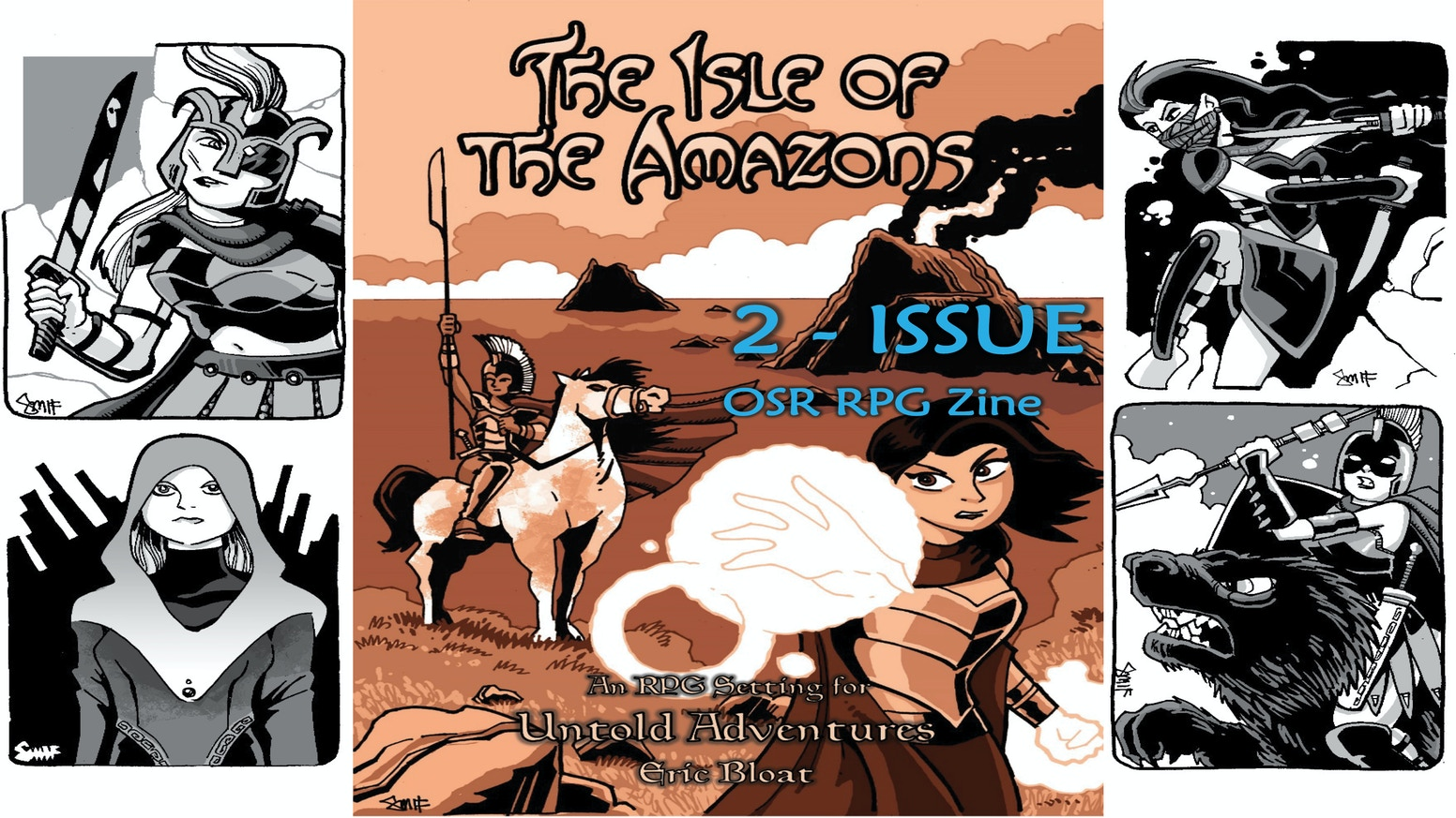 2 issue Setting for Untold Adventure and other White Box based OSR RPGs.