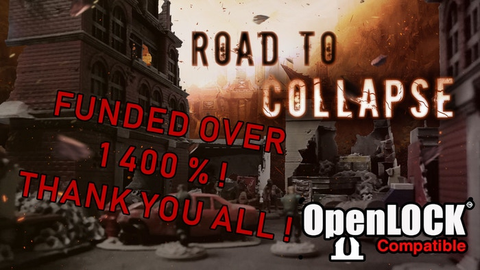 Road to collapse - Modern & post apo scenery (STL)