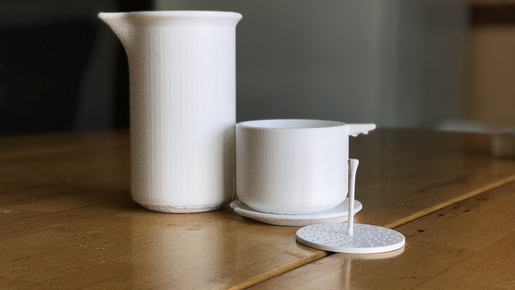 Project image for PHIN : A Ceramic Coffee Maker