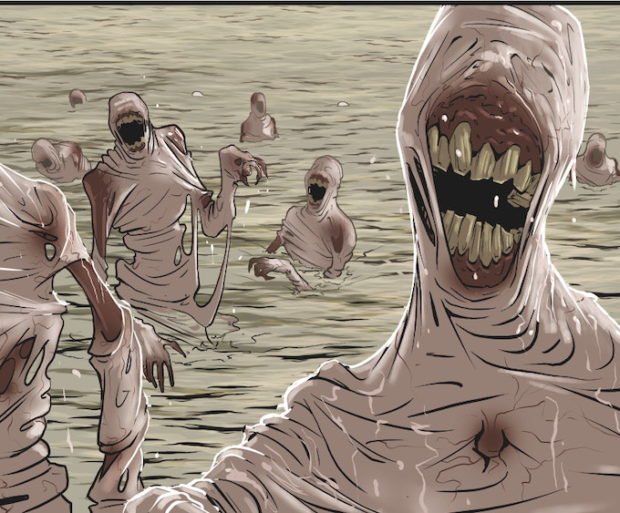 Ghouls (From The Book of Luka graphic novel)