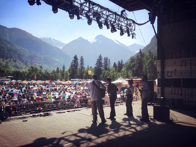 Fireside Collective in Telluride Band Competition Finals 2015   Photo Credit: Cara Mastrianni