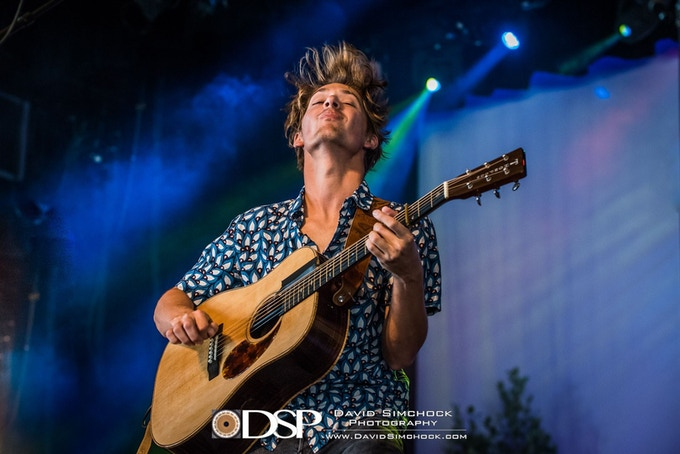 Joe Rockin' Out at Mountain Song Festival in Brevard   Photo Credit: David Simchock