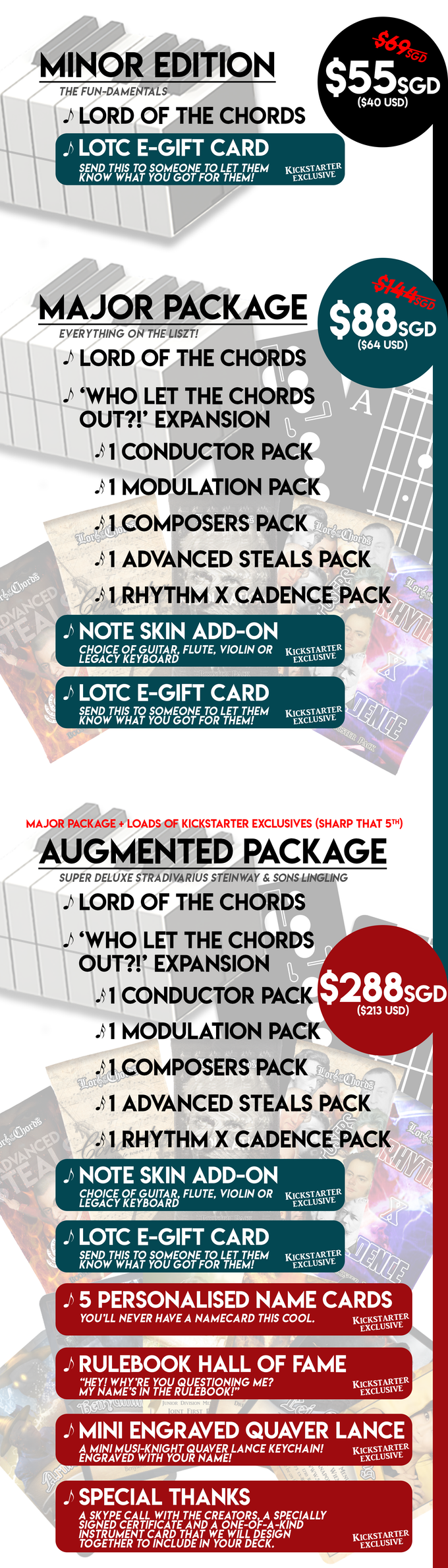 Lord of the Chords: The Punniest Music Theory Card Game! by
