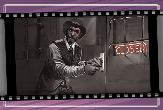 A determined gumshoe doesn't let a little thing like the law stand in the way of solving a case.