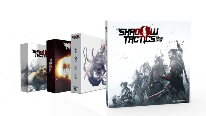 A tactical stealth game for 1-6 players with ninjas trying to outsmart the guards! Based on the acclaimed video game. 40+ Miniatures!