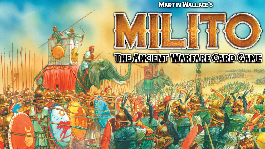 Martin Wallace's Milito game project video thumbnail