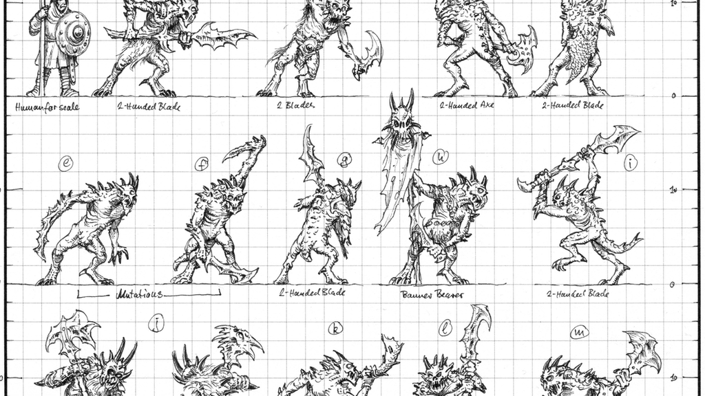 10mm Demon Infantry Miniatures from Black Gate Miniatures project video thumbnail