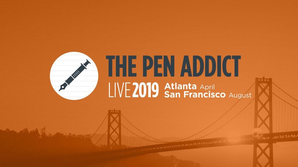 The Pen Addict Live 2019: Atlanta and San Francisco project video thumbnail