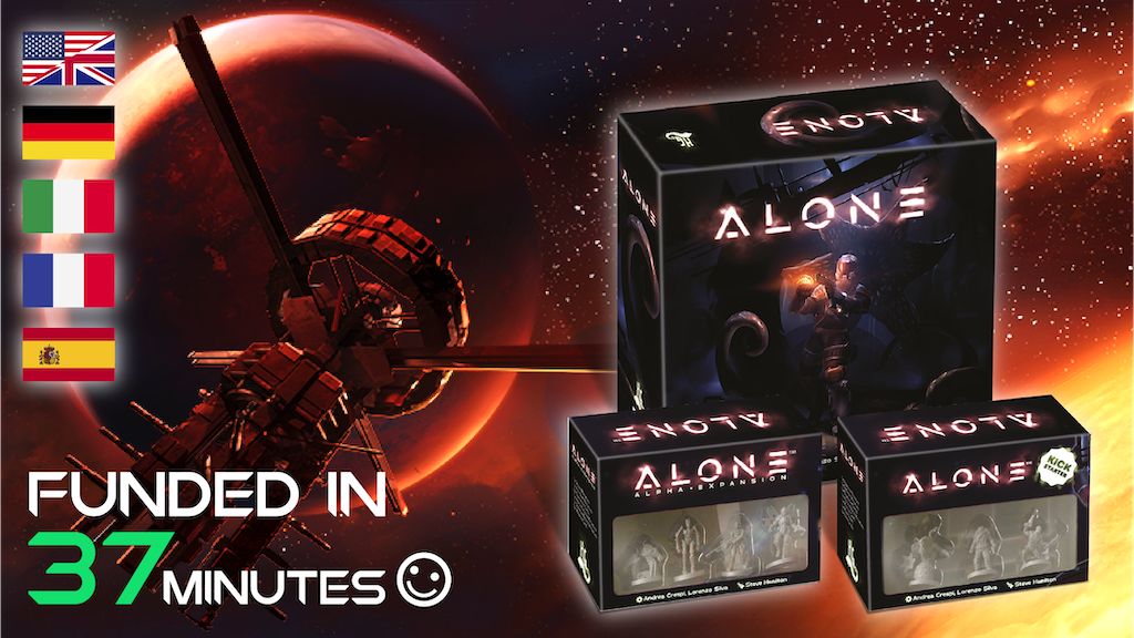 Alone™: 2nd Print Run with New Contents and Localizations is the top crowdfunding project launched today. Alone™: 2nd Print Run with New Contents and Localizations raised over $135612 from 1743 backers. Other top projects include ECHIZEN KNIFES AND SWORD to pass on samurai sword making, Freeman's Farm: 1777, Ultimate Leather + Titanium Bag...