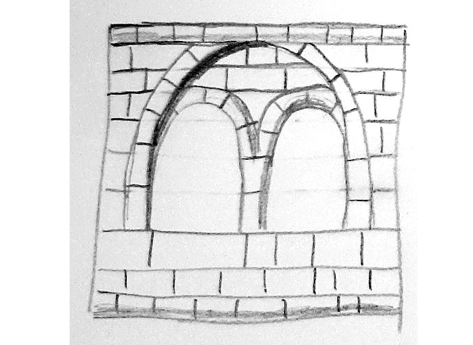 Windowed wall