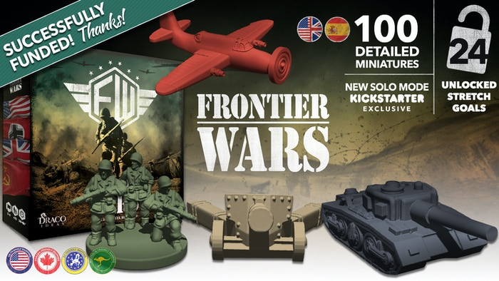 Frontier Wars: the board game by Draco Ideas » Thank you!! Next