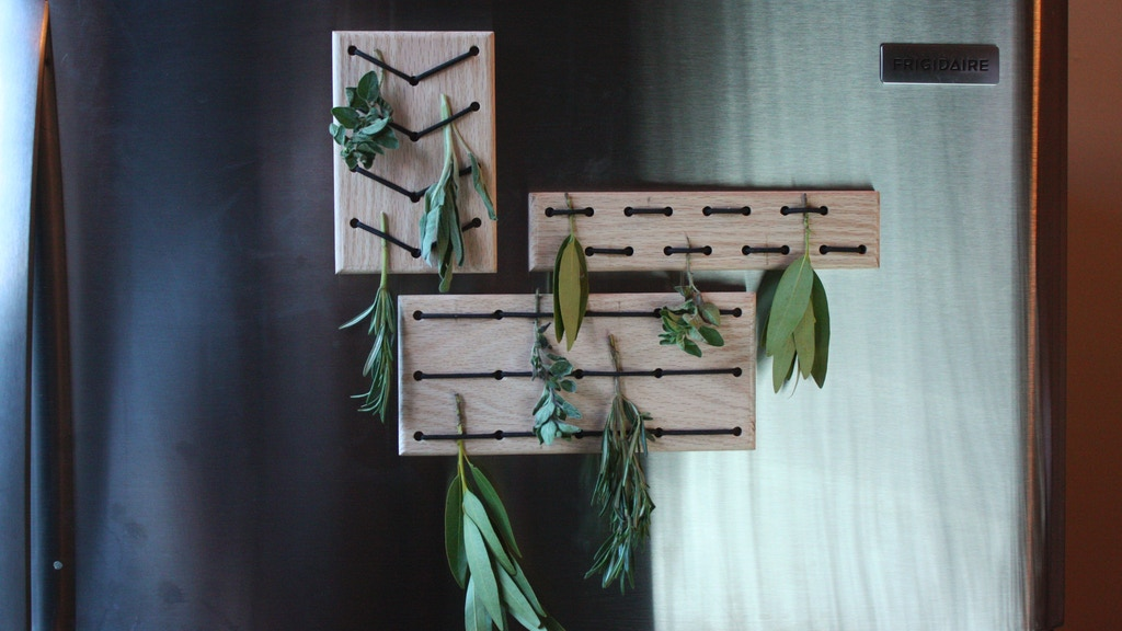 ERVA Herb Drying Rack project video thumbnail