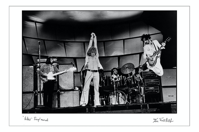 The Who In Rehearsal 1973 (16x20 choice)