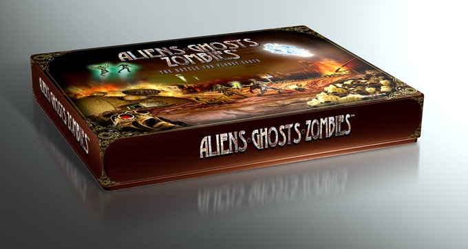 Single Copy of ALIENS GHOSTS ZOMBIES