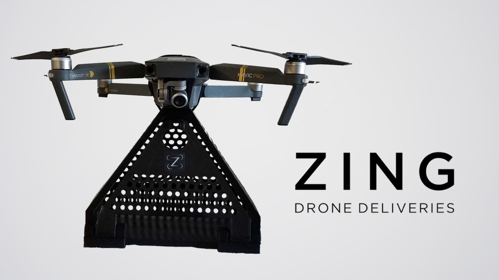 Zing - Drone Deliveries Using DJI Drones project video thumbnail