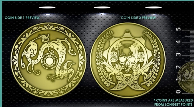 "AGZ ""Universal Shield & Weapon"" Coin"
