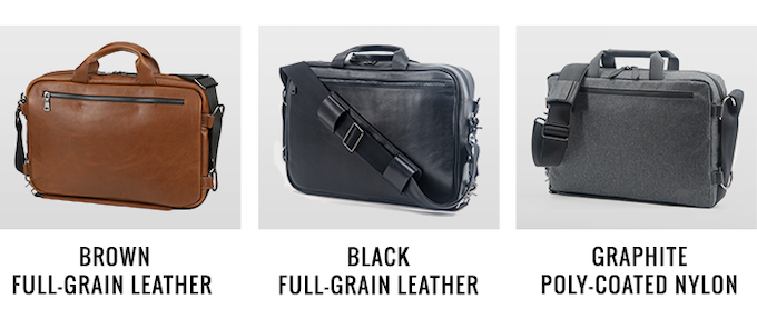 Meridian Instantly Convert From Backpack To Messenger Bag